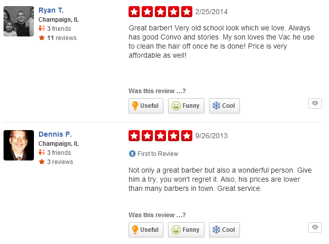 See what our customers have said about us on Yelp.